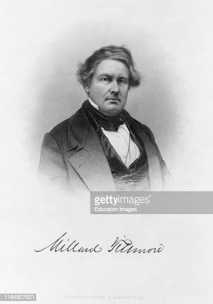 Millard Fillmore 180074 Thirteenth President of the United States Engraved and Published by JC Buttre 1877