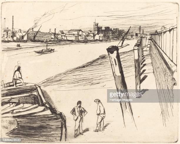 Millbank, 1861. Artist James Abbott McNeill Whistler.