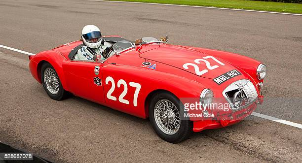 MGA 'Mille Miglia' roadster Fordwater Trophy race at The Goodwood Revival Meeting 13th Sept 2013