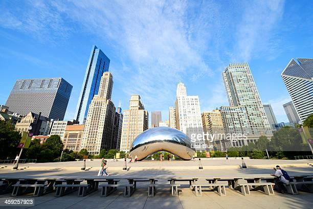 millenium park,chicago - millenium park bildbanksfoton och bilder