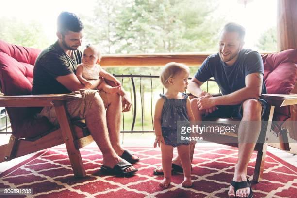 Millennial Parents together