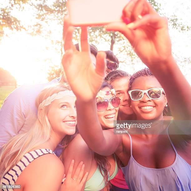 Millennials Hanging Out
