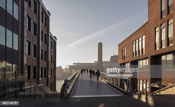 Millennium Bridge and Tate Moderm