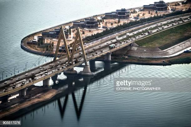 Millennium bridge in Kazan