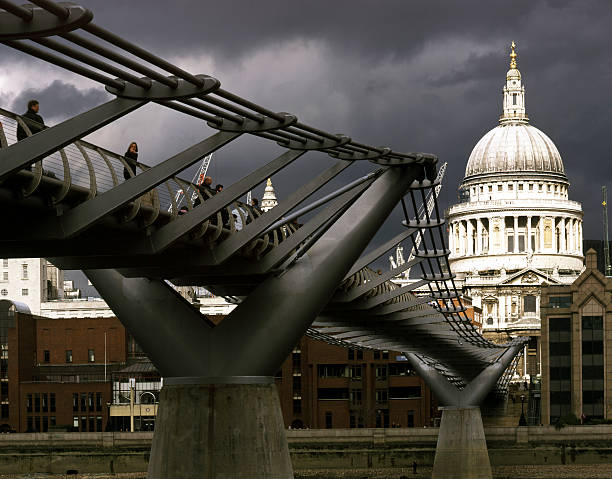 GBR: 10 June 2000: 20 Years Since London's Millennium Bridge Opened