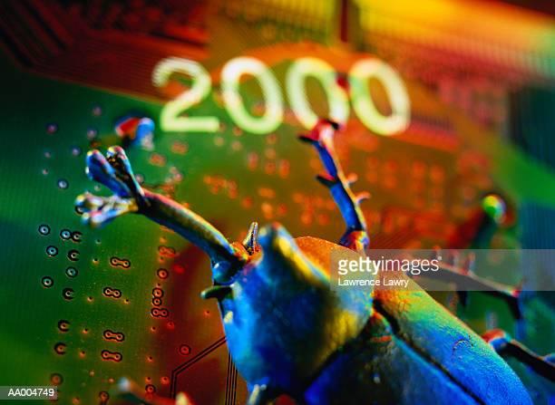 Millennium Bug on a Circuit Board