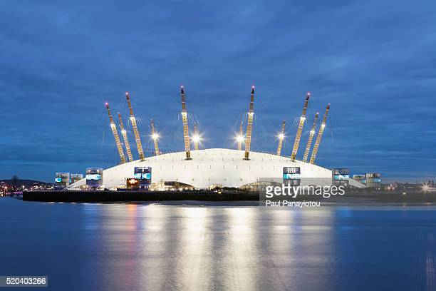 millennium dome in greenwich, london, uk - the o2 england stock pictures, royalty-free photos & images