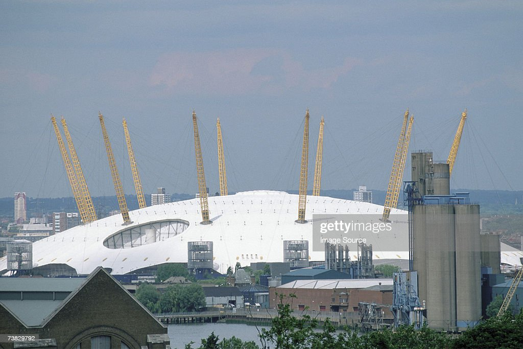 Millennium Dome, London, Great Britain : Stock Photo