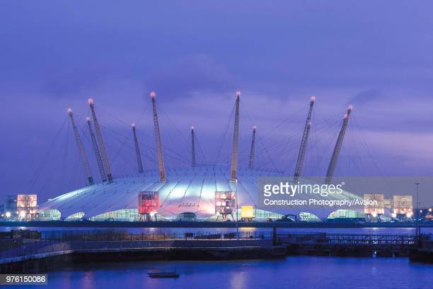 Millennium Dome London United Kingdom Designed by Richard Rogers Partnership