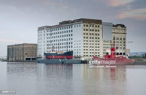Millennium Mills and Royal Victoria Dock, London