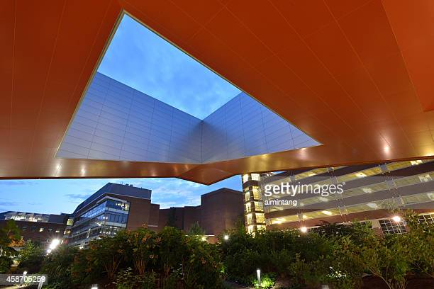 millennium science complex in penn state - state college stock photos and pictures
