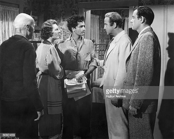 Miller, Anne Seymour , John Derek, Broderick Crawford and John Ireland star in the political drama 'All The King's Men', based on the life of...