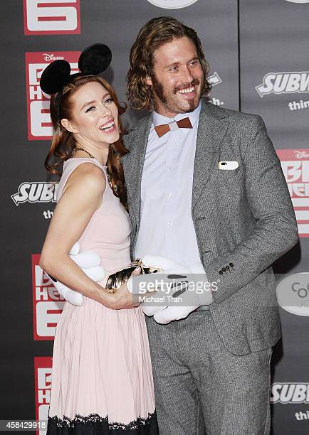 J Miller arrives at the Los Angeles premiere of Big Hero 6 held at the El Capitan Theatre on November 4 2014 in Hollywood California