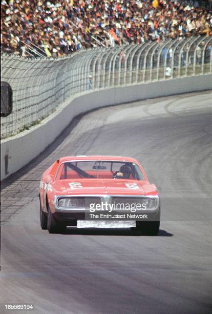 Miller High Life 500 Ontario Motor Speedway Bobby Isaac drives the Nord Krauskopf owned KK Insurance Dodge Charger to a fourth place finish