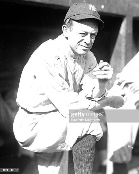 Miller Huggins, manager of the New York Yankees, who has piloted his team to its third successive American League pennant. Will he succeed in winning...