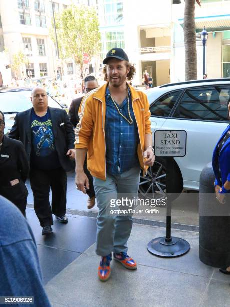 Miller is seen on July 21 2017 in San Diego California