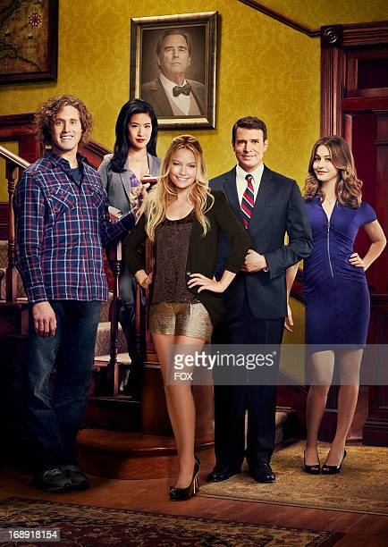 J Miller Melissa Tang Becki Newton and Scott Foley star in THE GOODWIN GAMES premiering Monday May 20 2013 on FOX