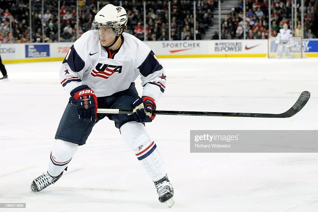 2012 World Junior Hockey Championships - United States v Denmark : News Photo