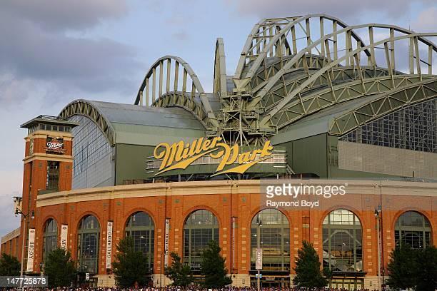 Miller Park, in Milwaukee, Wisconsin on JUNE 16, 2012.