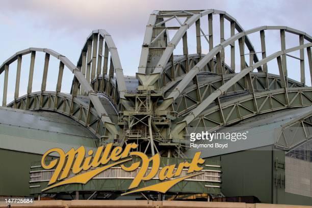 Miller Park in Milwaukee Wisconsin on JUNE 16 2012