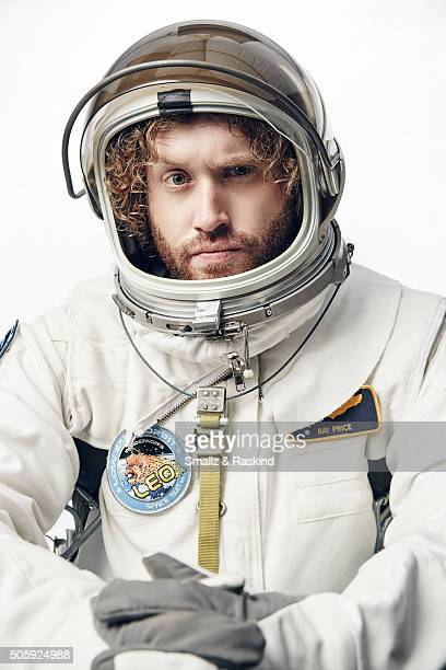 J Miller poses for a portrait during the 21st Annual Critics' Choice Awards at Barker Hangar on January 17 2016 in Santa Monica California