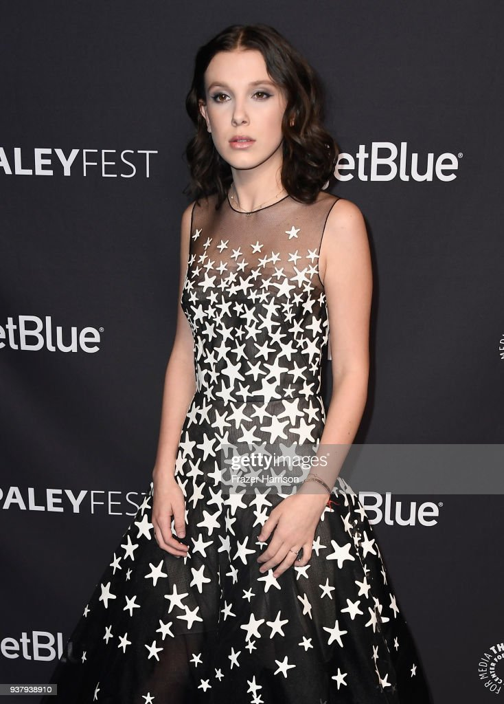 Millie Bobby Brown Millie-bobby-brown-attends-the-paley-center-for-medias-35th-annual-picture-id937938910