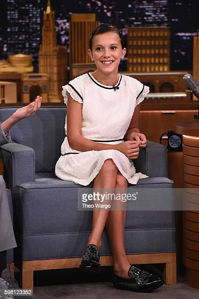 millie bobby brown tonight show