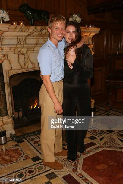 Millie Brady and Charley Palmer Rothwell attend a intimate dinner cohosted by LOUIS XIII Vanity Fair celebrating the brand's '100 Years' campaign on...