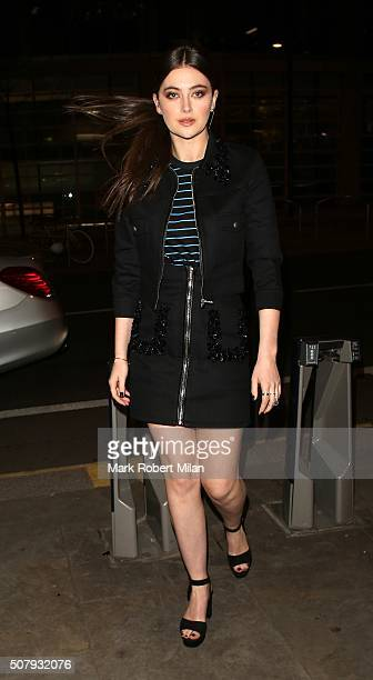 Millie Brady attending the 'Pride And Prejudice And Zombies' after party at Bounce on February 1 2016 in London England