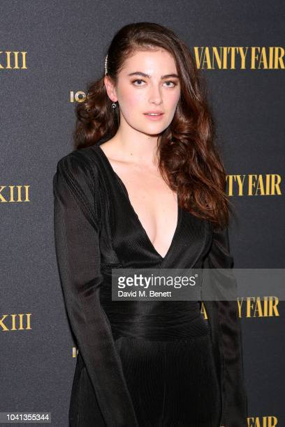 Millie Brady attends a intimate dinner cohosted by LOUIS XIII Vanity Fair celebrating the brand's '100 Years' campaign on September 26 2018 in London...