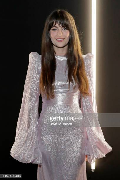 Millie Brady attends the dunhill Dylan Jones PreBAFTA party at dunhill Bourdon House on January 29 2020 in London United Kingdom