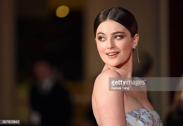 Millie Brady attends the European premiere of 'Pride And Prejudice And Zombies' at the Vue West End on February 1 2016 in London England