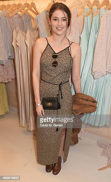 Millie Brady attends the reinvention of Ghost on Kings Road hosted by Touker Suleyman on April 15 2015 in London England