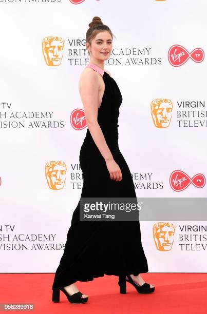 Millie Brady attends the Virgin TV British Academy Television Awards at The Royal Festival Hall on May 13 2018 in London England