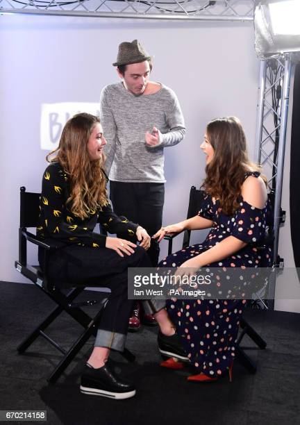 Millie Brady David Dawson and Eliza Butterworth join BUILD for a live interview at AOL's Capper Street Studio in London