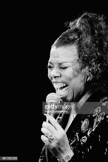 Millie Jackson, vocals, performs on July 9th 1993 at the North Sea Jazz Festival in the Hague, Netherlands.