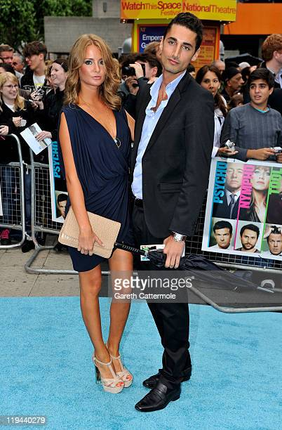 Millie Mackintosh and Hugo Taylor attends the UK film premiere of Horrible Bosses at BFI Southbank on July 20 2011 in London England