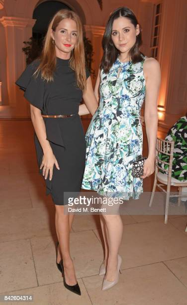 Millie Mackintosh and Lilah Parsons attend the House of Fraser VIP dinner to relaunch Issa London at The Orangery on September 4 2017 in London...
