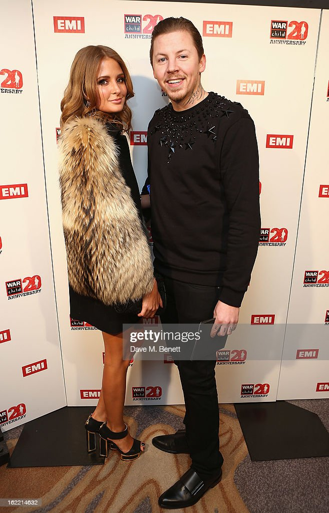 Millie Mackintosh and Professor Green attend the EMI & War Child Brits Aftershow Party at 02 Arena on February 20, 2013 in London, England.