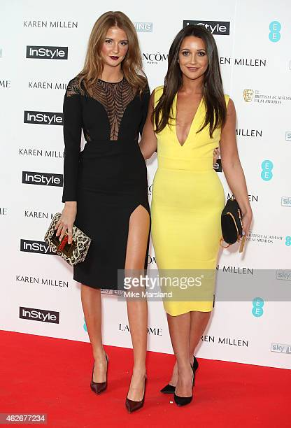 Millie Mackintosh and Roxie Nafousi attend the InStyle The Best of British Talent PreBAFTA party at The Ace Hotel on February 2 2015 in London England