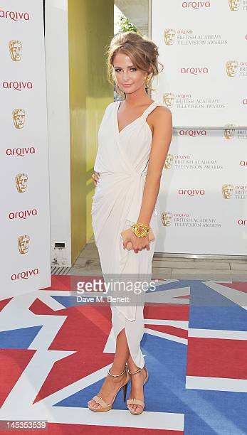 Millie Mackintosh arrives at the Arqiva British Academy Television Awards 2012 at Royal Festival Hall on May 27 2012 in London England