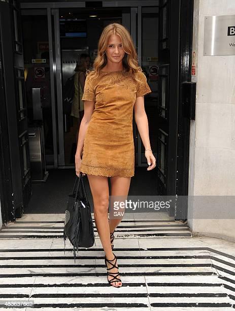 Millie Mackintosh at BBC Radio on August 11 2015 in London England