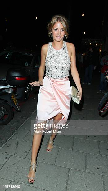 Millie Mackintosh attend the TV Choice awards at the Dorchester hotel on September 10 2012 in London England