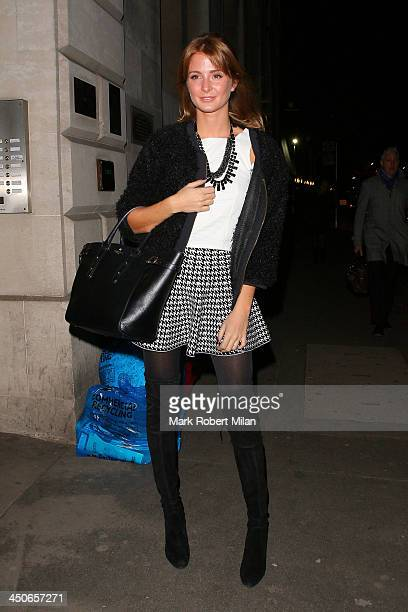 Millie Mackintosh attending the Steam and Rye launch party on November 19 2013 in London England