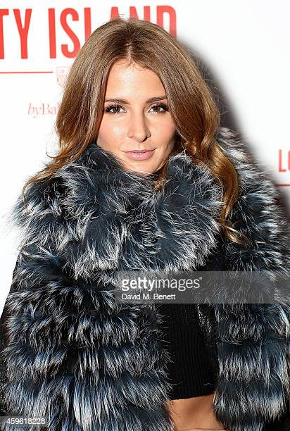 """Millie Mackintosh attends an exclusive party to celebrate the imminent arrival of """"City Island by Ballymore"""" - a new island neighbourhood for London..."""