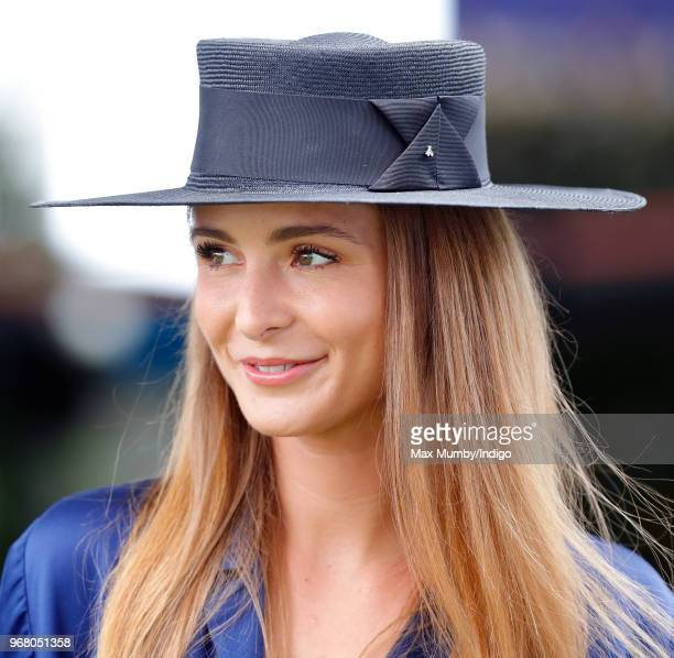 Millie Mackintosh attends Derby Day of the Investec Derby Festival at Epsom Racecourse on June 2, 2018 in Epsom, England.