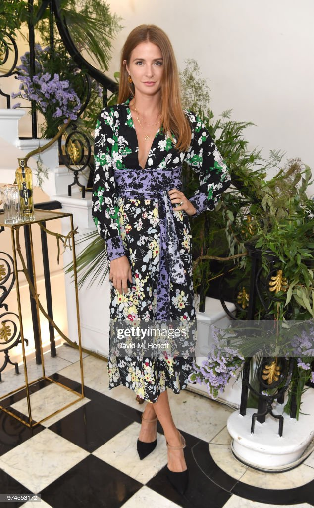 Millie Mackintosh attends Maison St Germain x House of Holland Opening Night in Mayfair on June 14, 2018 in London, England.