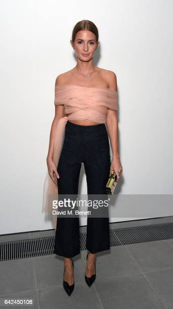 Millie Mackintosh attends the British Fashion Council Fashion Film x River Island film screening and cocktail party at The Serpentine Sackler Gallery...