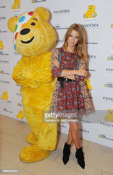Millie Mackintosh attends the Children In Need PANDORA launch event on September 22 2015 in London England