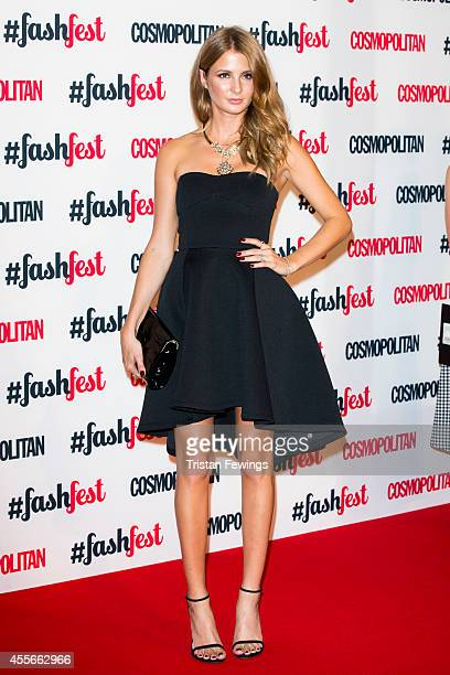 Millie Mackintosh attends the Cosmopolitan #FashFest event at Battersea Evolution on September 18 2014 in London England